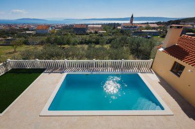 Zwembad  Huis 114408 Kastel Novi