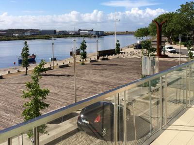 Uitzicht vanaf het balkon  Appartement 87313 Vila do Conde