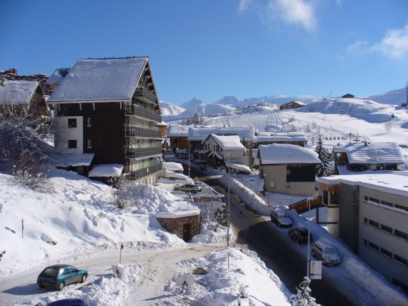 Uitzicht vanaf de woning  Appartement 64 Alpe d'Huez