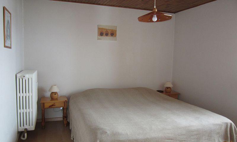 slaapkamer 1  Appartement 64 Alpe d'Huez