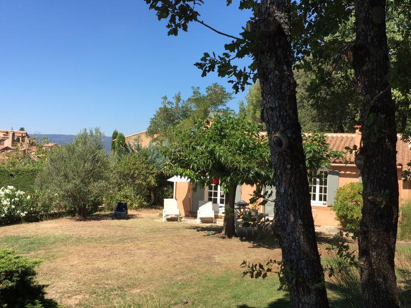 Uitzicht vanaf de woning  Huis 100544 Roussillon