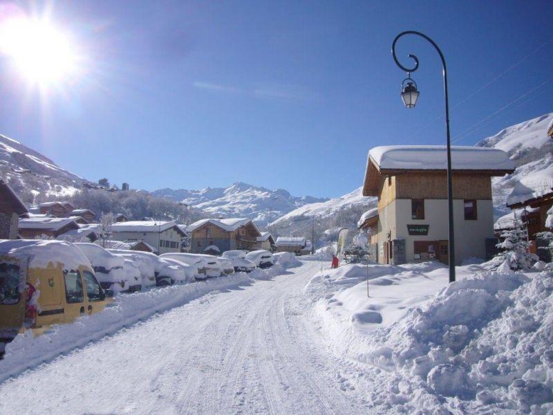 Zicht op de omgeving  Chalet 100576 Les Menuires