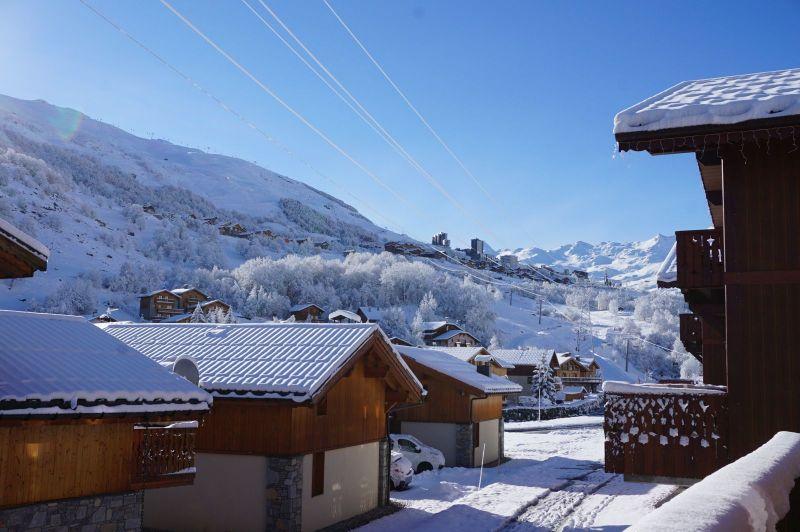 Uitzicht vanaf het balkon  Chalet 100576 Les Menuires