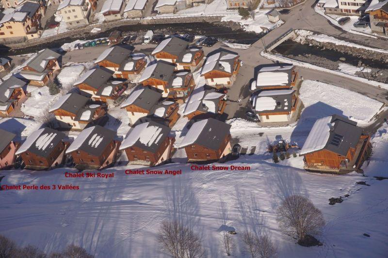 Het aanzicht van de woning  Chalet 100576 Les Menuires