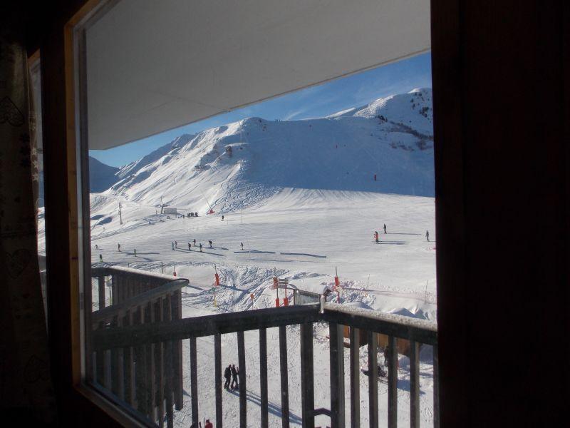Uitzicht vanaf het terras  Studio 79769 La Plagne