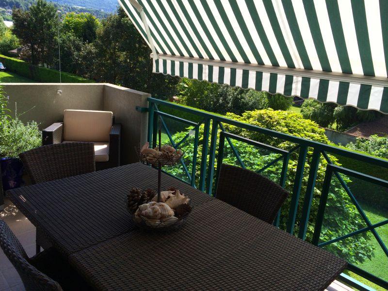 Uitzicht vanaf het terras  Appartement 80483 Aix Les Bains