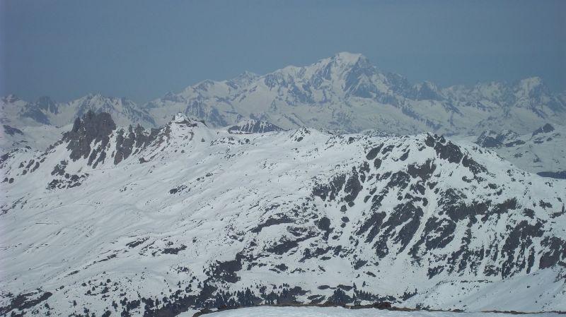 Uitzicht vanaf het balkon  Appartement 90273 Val Thorens