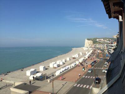 Uitzicht vanaf de woning  Appartement 101113 Mers Les bains