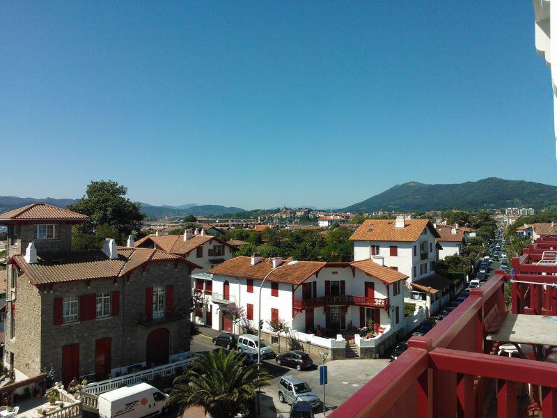 Uitzicht vanaf het balkon  Appartement 112931 Hendaye