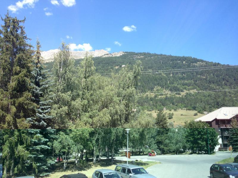 Uitzicht vanaf de woning  Studio 74661 Serre Chevalier
