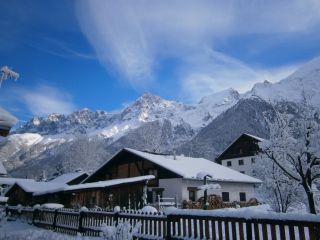 Uitzicht vanaf de woning  Chalet 99958 Chamonix Mont-Blanc