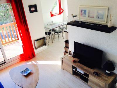 Woonkamer  Appartement 63538 Deauville