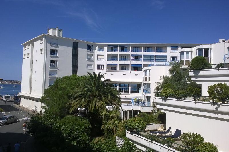 Uitzicht vanaf het balkon  Appartement 89774 Saint Jean de Luz