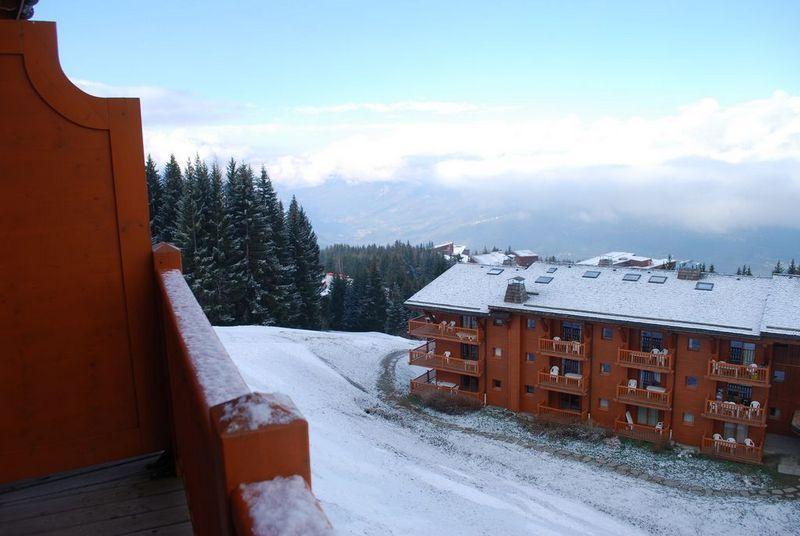 Uitzicht vanaf het balkon  Appartement 101056 Les Arcs