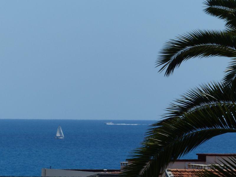 Uitzicht vanaf het terras  Appartement 93557 Nice