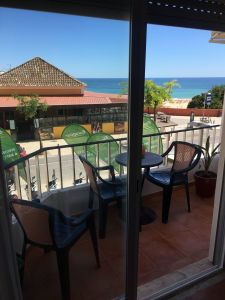 Uitzicht vanaf het balkon  Appartement 96534 Praia da Rocha