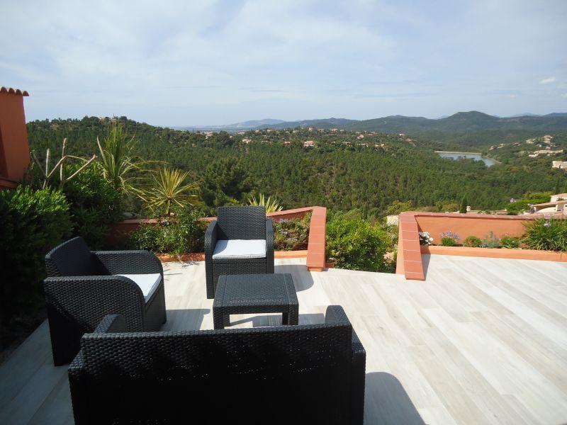 Uitzicht vanaf het terras  Huis 100590 La Londe les Maures