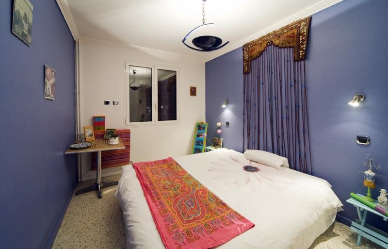 slaapkamer 1  Appartement 77050 Menton