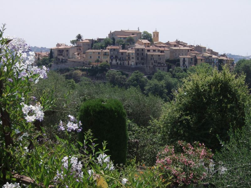 Uitzicht vanaf het terras  Villa 92098 Nice