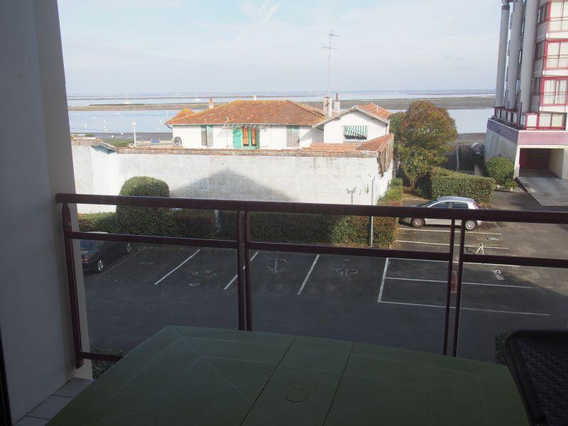 Uitzicht vanaf het balkon  Appartement 92451 Arcachon