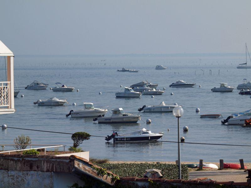 Uitzicht vanaf het terras  Appartement 92451 Arcachon