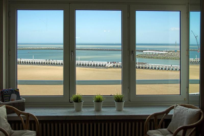 Uitzicht vanaf de woning  Appartement 75999 Oostende