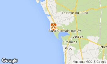 Kaart Saint-Germain-sur-Ay Villa 30390
