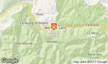 Kaart Les 2 Alpes Chalet 93861