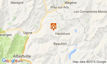 Kaart Les Saisies Appartement 107297