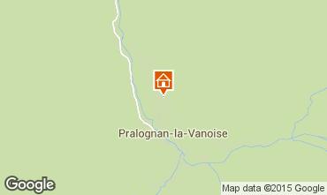 Kaart Pralognan la Vanoise Appartement 18251