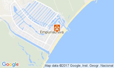 Kaart Empuriabrava Appartement 108019