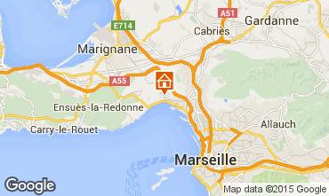 Kaart Marseille Vakantiehuis 5959