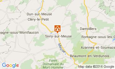 Kaart Verdun Vakantiehuis 105333