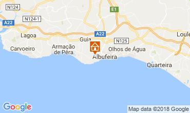 Kaart Albufeira Huis 114095