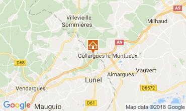 Kaart La Grande Motte Villa 113402