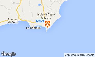 Kaart Isola di Capo Rizzuto Appartement 61892