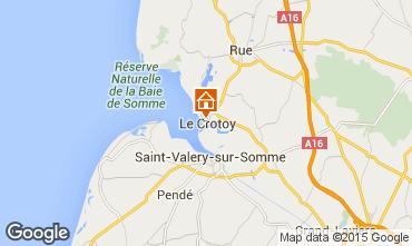 Kaart Le Crotoy Huis 78387