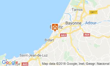 Kaart Biarritz Appartement 98622
