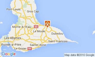 Kaart Le Moule Villa 100796