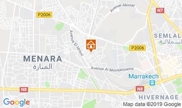 Kaart Marrakech Appartement 118799