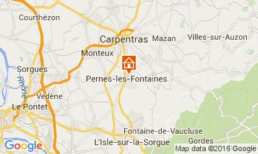 Kaart Pernes les Fontaines Huis 105310