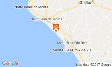 Kaart Saint Hilaire de Riez Appartement 110324