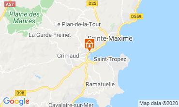 Kaart Port Grimaud Stacaravan 113311