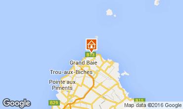 Kaart Grand Baie Appartement 72713
