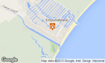 Kaart Empuriabrava Appartement 82822