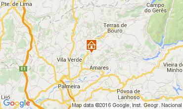 Kaart Braga Vakantiehuis 105979