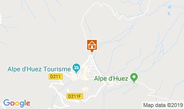 Kaart Alpe d'Huez Appartement 27