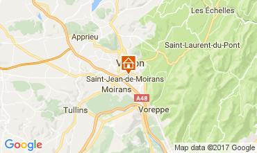 Kaart Grenoble Vakantiehuis 16078