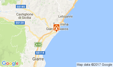 Kaart Taormina Studio 70346