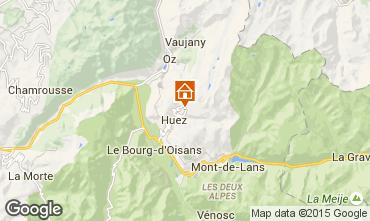 Kaart Alpe d'Huez Studio 49666